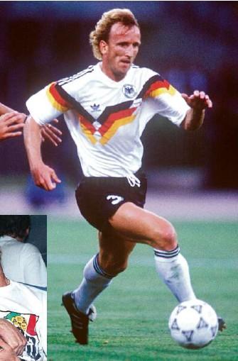 ?? Fotos: dpa/imago-images ?? Bei der WM 1990 war Andreas Brehme in der Form seines Lebens. Mit der Dfb-auswahl wurde der linke Verteidiger Weltmeister. Im Finale schoss er das entscheidende Tor.