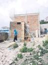 ??  ?? Hace dos años comenzaba la construcción de 75 baños en Vaquerías.