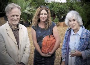??  ?? Tony Shepherd, Niamh Mullally and Jane Seppings