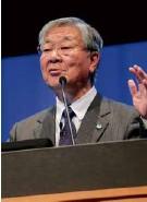 ??  ?? Hitachi CEO Nakanishi (above)