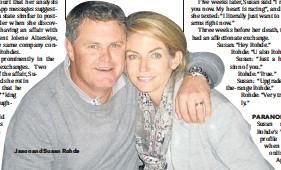 ??  ?? Jason and Susan Rohde