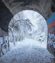 ?? FOTO: HEIDI BERNHARD ?? Der Heubergbahntunnel in Gosheim.