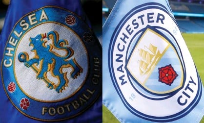 ?? Composite: Getty Images; PA Images ?? Chelsea and Manchester City are wavering about joining the European Super League, according toa well-placed executive at another club.