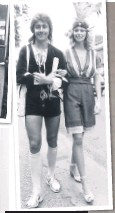 ??  ?? Above, Joe Dayland and friend at Ascot in hot pants. Left, decimal currency came into circulation