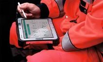 ??  ?? Das Medicalpad von Tech2go dokumentiert seit 20 Jahren Krankentransport-, Rettungsund Notarzteinsatzprotokolle in digitaler Form.