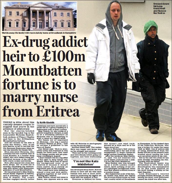 PressReader - Scottish Daily Mail: 2013-04-13 - Ex-drug addict ...