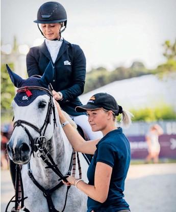 ?? Bild: Kaitlyn Karssen ?? Irländaren Bertram Allen kommer till OS med världens högst rankade nioåring.