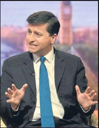 ?? Pictures: PA. ?? Douglas Alexander appearing on the Andrew Marr Show on BBC1.