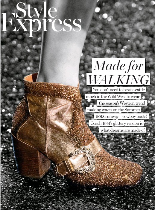 afd2a506ea1 PressReader - Marie Claire (Malaysia): 2018-06-01 - Made for WALKING