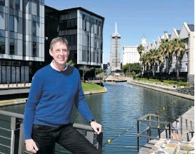 ??  ?? David Green, CEO of the V&A Waterfront. All photos: Nasief Manie