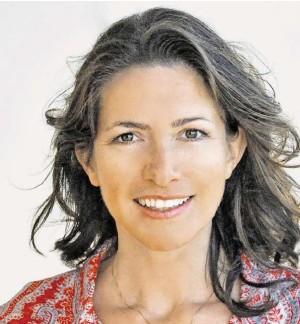 ?? BILD: SN/GAYLE M. LANDES ?? In Amerika: Michaela Haas, Buchautorin und Publizistin.