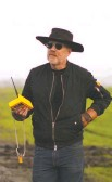 """?? DISCOVERY ?? Adam Savage gets ready to launch another gizmo with a remote controller on his new TV series, """"Savage Builds."""""""
