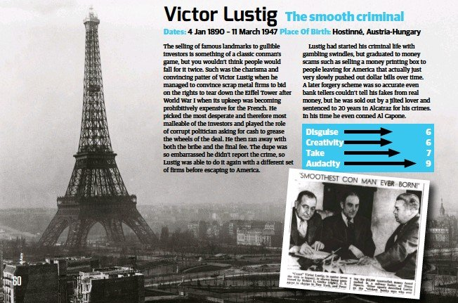 Victor lustig - PressReader