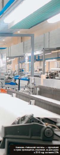 6f6b4d1808e Компания «Чайковский текстиль» — крупнейший в стране производитель  спецтканей