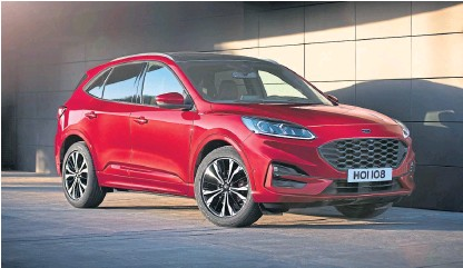 2020 Ford Kuga Plug-In Hybrid Is Coming Next Spring >> Pressreader The Courier Advertiser Fife Edition 2019 04 03
