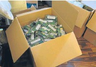??  ?? HMRC has cracked down on illicit tobacco.
