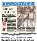 ??  ?? More than 1,700 ex-residents of the Huronia Regional Centre who suffered abuse settled a class action lawsuit with the government for $35 million in 2013.