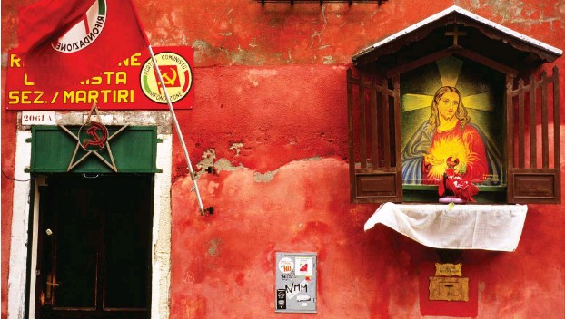 ?? JJesus Foto: Alamy ?? und die kommunistische Partei – gibt es da einen Zusammenhang?