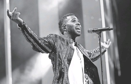 """?? 2018 GETTY IMAGES PHOTO ?? Jason Derulo teams with Adam Levine on """"Lifestyle."""""""