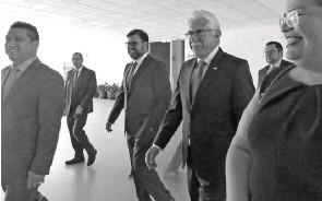??  ?? Luis Ernesto Ayala Torres, secretario de Gobierno./Crescencio Torres