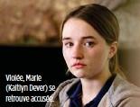 ??  ?? Violée, Marie (Kaitlyn Dever) se retrouve accusée.