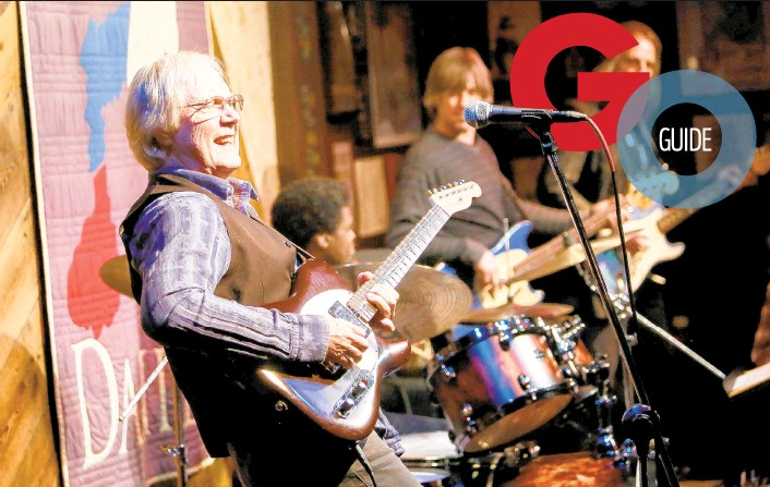 ?? CONTRIBUTE­D PHOTO ?? Jim Weider performs at Godfrey Daniels in Bethlehem.