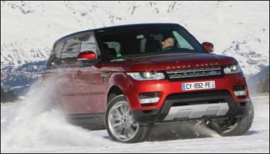 ??  ?? Le Range Rover Sport est à son aise sur tous les terrains.