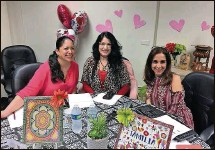 ?? La Hora del Cafecito Courtesy of Lourdes Quiñones ?? From left, Maggie Aldana, Lourdes Quiñones and Yasmin Castellano host (Coffee Time), an online program in Spanish offering education and advice about autism.