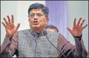 ?? PTI FILE ?? Commerce minister Piyush Goyal