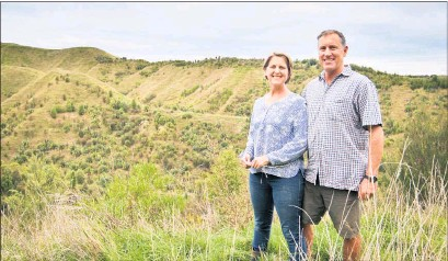 ?? PHOTO: FILE. ?? RECOGNISED: Pan Pac Hawke's Bay Farm Forester of the Year Award winners, Mangarara Station owners Greg and Rachel Hart.