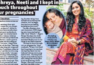 ?? PHOTOS: PRABHAS ROY/HT, INSTAGRAM/ HARSHDEEPKAUR MUSIC ?? Harshdeep Kaur; (inset) with her son, Hunar