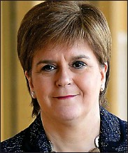 ??  ?? GRIEVANCES: First Minister Nicola Sturgeon