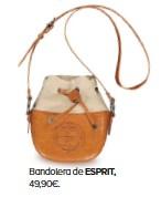 ??  ?? Bandolera de ESPRIT, 49,90€.