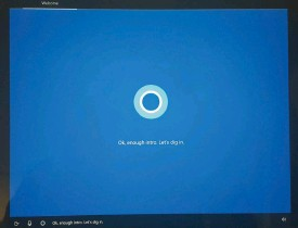 ??  ?? Setting up the Windows 10 Creators Update is now a pleasant, voice-driven experience with the cheery Cortana