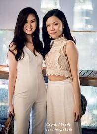 ??  ?? Crystal Yeoh and Faye Lee