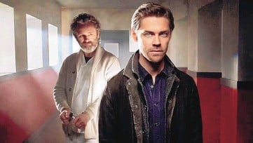"""?? COURTESY OF FOX ?? Michael Sheen and Tom Payne star in Fox's """"Prodigal Son."""""""