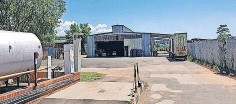 ??  ?? The property in Stephenson Street, Riverside Industrial, Newcastle, to be sold by Ian Wyles on May 27.