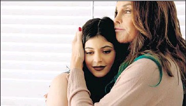 """?? E! Entertainment ?? CAITLYN JENNERreacts to a surprise visit from daughter Kylie in a scene from E!'s """"I Am Cait."""""""