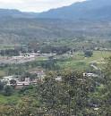 ?? FOTO: EL HERALDO ?? El valle de Amarateca ha sido víctima de las invasiones.