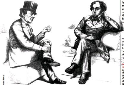 ??  ?? William Gladstone and his rival Benjamin Disraeli