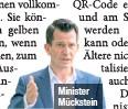 ??  ?? Minister Mückstein