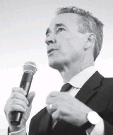 ?? JULIA RENDLEMAN FOR THE WASHINGTON POST ?? Sen. Rosalyn R. Dance is being challenged by former delegate Joe Morrissey in the 16th District. The Democratic establishment is backing Dance; Morrissey regularly thumbs his nose at the party.