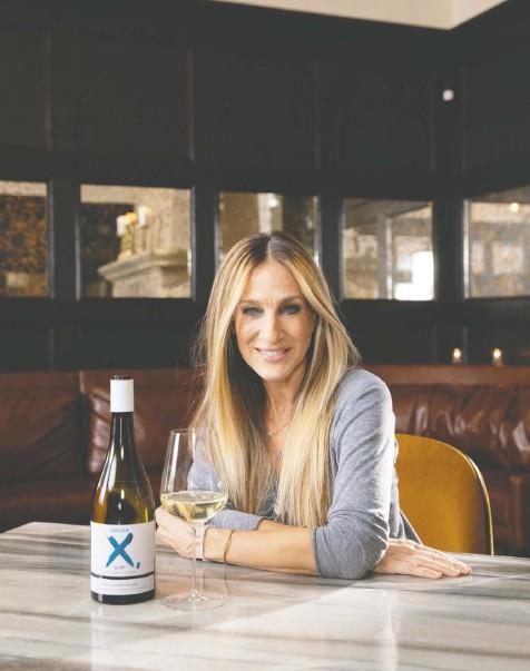 ??  ?? Actor Sarah Jessica Parker has created a Sauvignon Blanc with New Zealand winery Invivo.