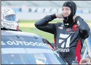 ?? THE ASSOCIATED PRESS ?? Cup Series star Kyle Busch has frequently dipped his toes in Xfinity and Truck series races throughout his career. He'll participate in Saturday's Truck race in Richmond.
