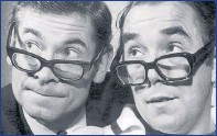 ??  ?? DOUBLE ACT: Stanley Baxter worked with Ronnie Corbett.