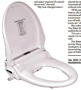 Pressreader Tweed Daily News 2019 07 24 Bidet Replaces Toilet Paper For Shopper Barbara