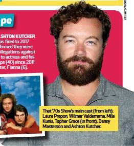 Show accused 70s star Danny Masterson