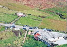 ?? Foto| Fredy Arango | LA PATRIA ?? El área de páramo, antes de ingresar al Parque Los Nevados, es de amortiguación y allí tampoco están autorizadas las actividades que atenten contra el ecosistema.