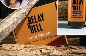??  ?? Belay & Belle was born out of a desire to pare down an overflowing spice cabinet to versatile blends that do it all.
