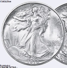 ??  ?? SILVER: one of the last silver coins minted for circulation